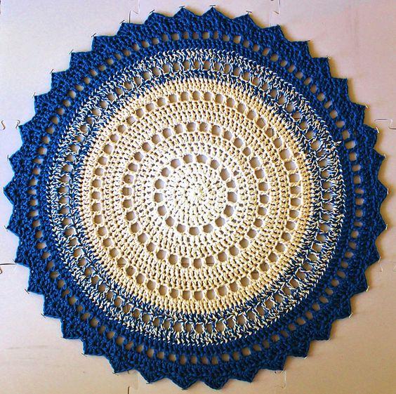tapete d croche circular