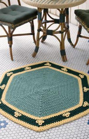 tapete hexagonal
