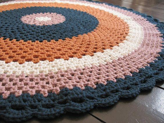 tapetes com cores