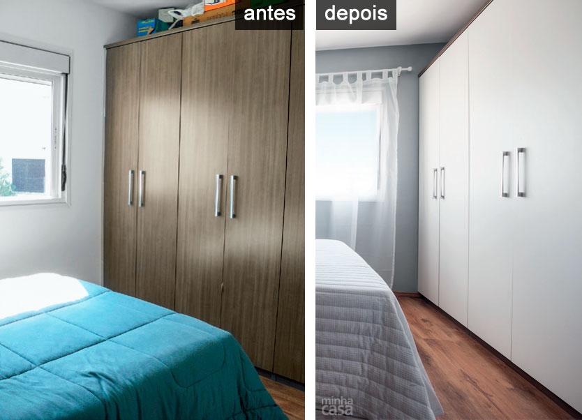 Aparador Wengue Y Blanco ~ Adesivo vinílico 75 modelos inovadores na decoraç u00e3o