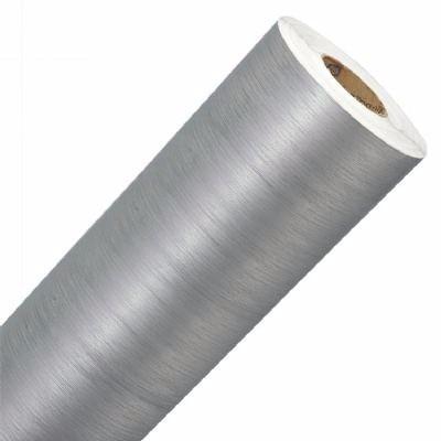 Adesivo vinil aço escovado