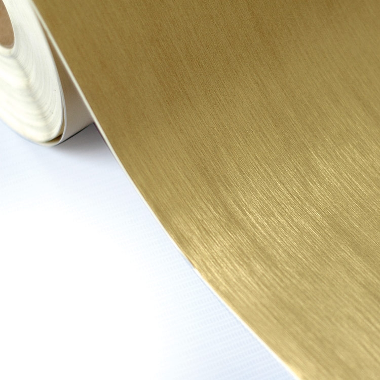 Adesivo vinilico dourado