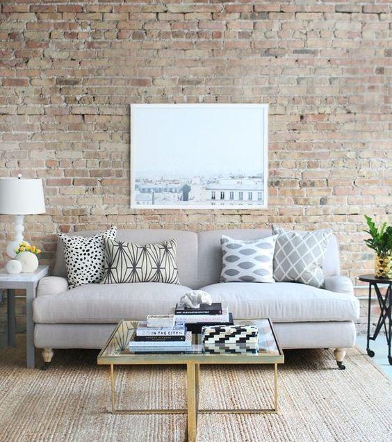 almofadas decorativas em cinza