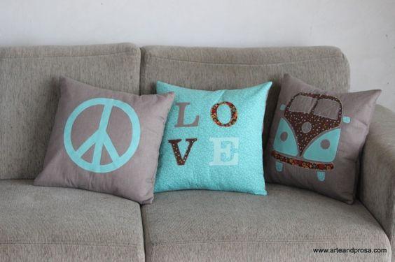 modelos de almofadas decorativas : almofadas decorativas na sala