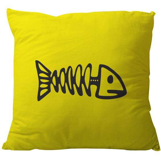 almofadas decorativas peixe