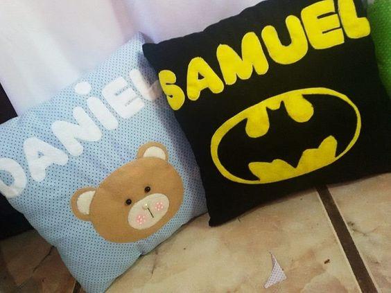 almofadas personalizadas bebes
