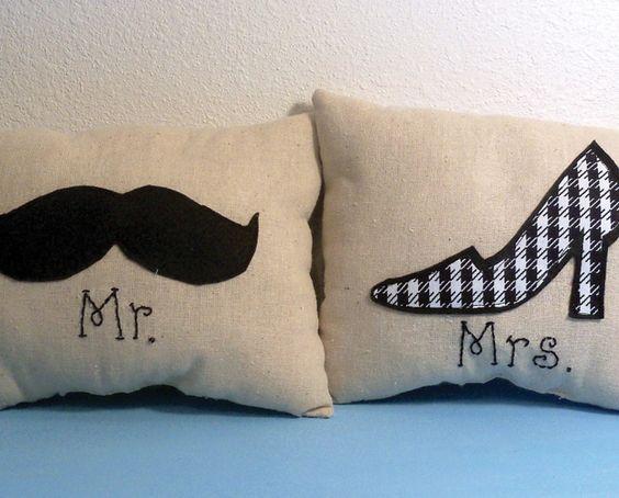almofadas personalizadas homem e mulher