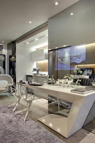 bancada de cozinha moderna