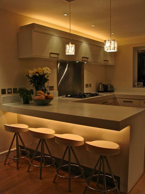 bancada de cozinha simples e bonita