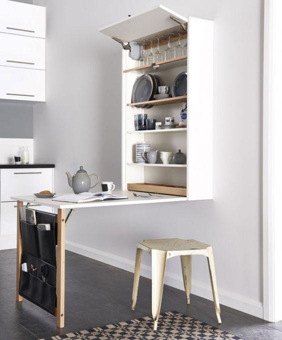 bancada super simples para cozinha