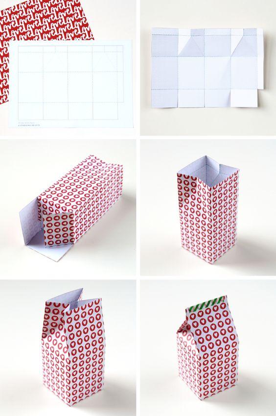 Artesanato Com Caixas De Leite 120 Modelos Com Passo A Passo