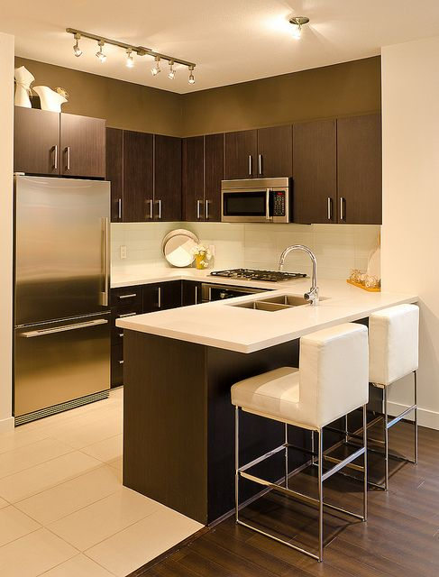 Cozinha americana veja 100 projetos modelos e dicas for Cocina para departamento pequeno