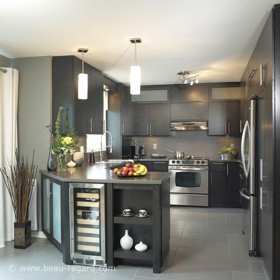 cozinha americana veja 100 projetos modelos e dicas para sua casa. Black Bedroom Furniture Sets. Home Design Ideas