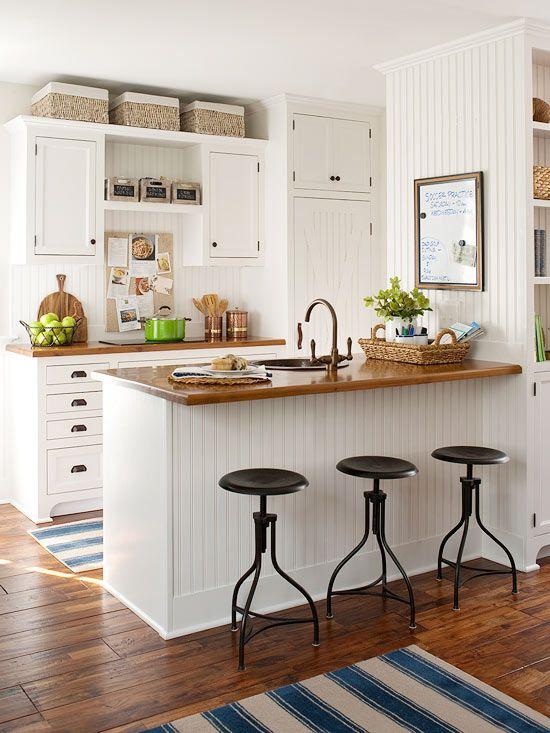 cozinha com decoração classica