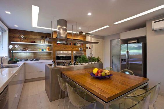 cozinha estilo gourmet