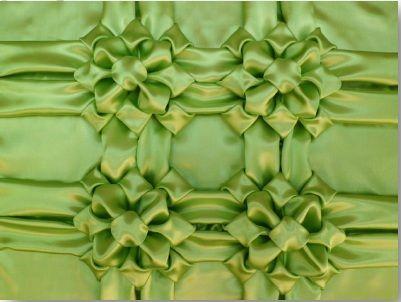 detalhe almofada capitone verde