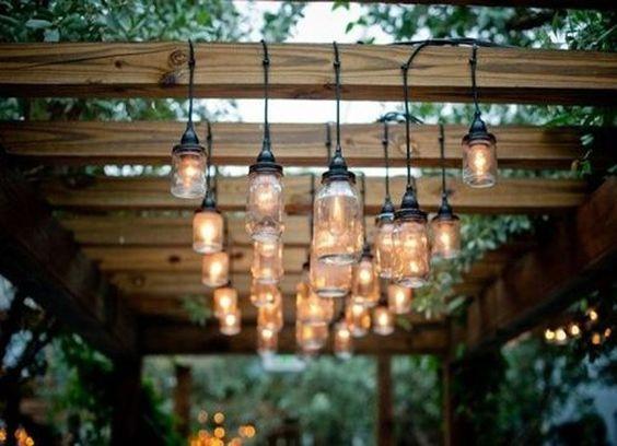 luminarias para pergolado