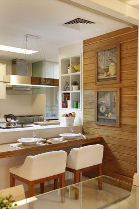 painel de madeira para cozinha