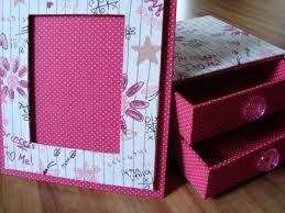 porta retrato rosa feito em casa