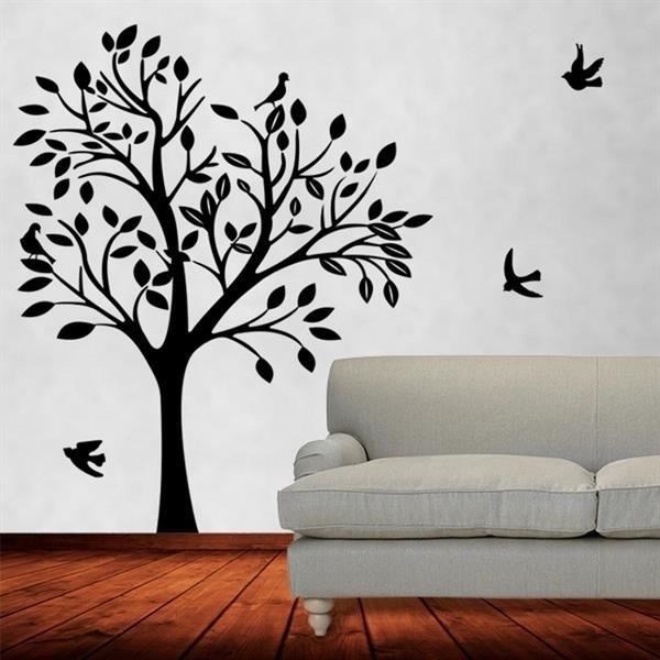 Papel de parede árvore escuo