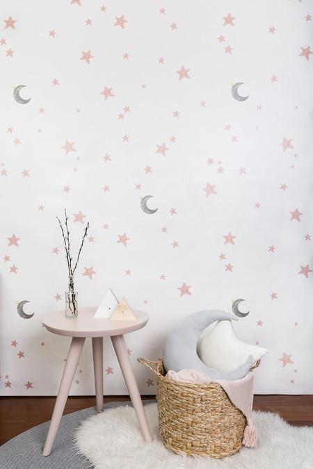 Papel de parede com estrelas