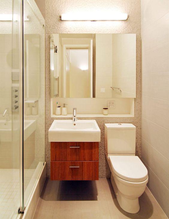 Banheiros Pequenos 160 Modelos E Dicas Para Decorar