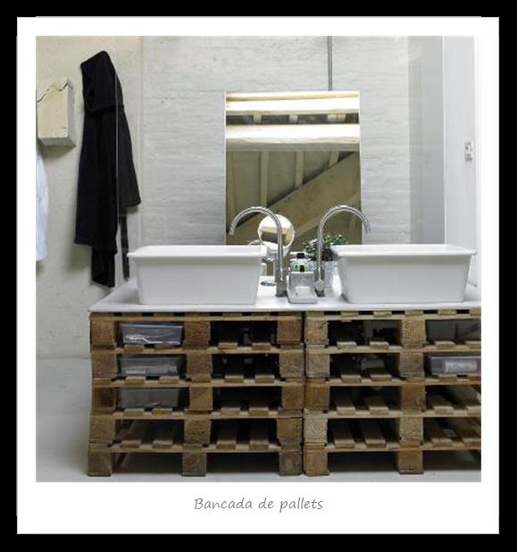 Banheiros decorados  40 modelos com fotos lindos para você! -> Pia De Banheiro De Pallet