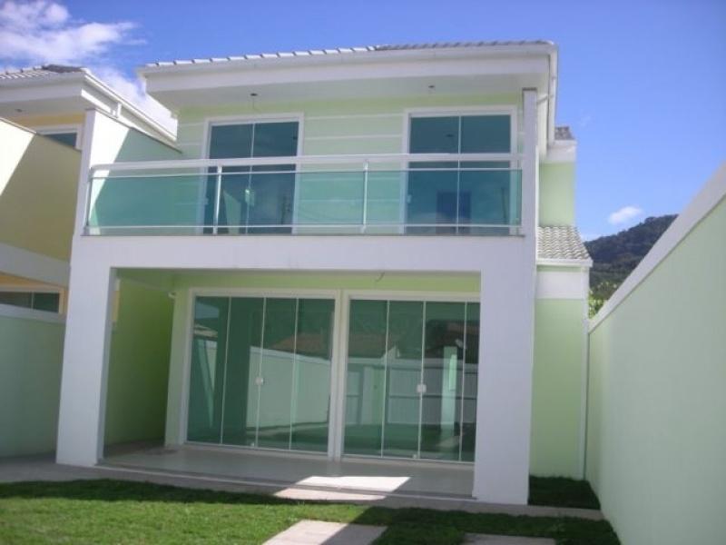 Muro de vidro para varanda