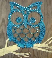 artesanato-com-linhas-em-formato-de-coruja