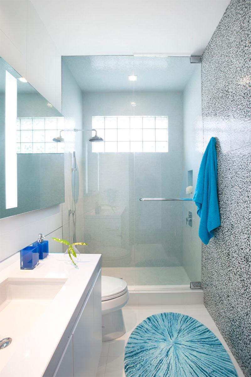 Banheiros Pequenos  100 Formas Diferentes de Decorar Lindamente! # Banheiros Minusculos Decorados