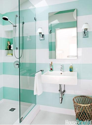 Banheiros Pequenos  100 Formas Diferentes de Decorar Lindamente! -> Arrumar Banheiro Pequeno