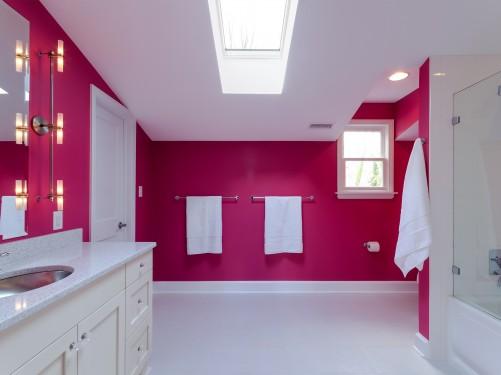 Banheiros decorados  40 modelos com fotos lindos para você! -> Banheiro Feminino Moderno
