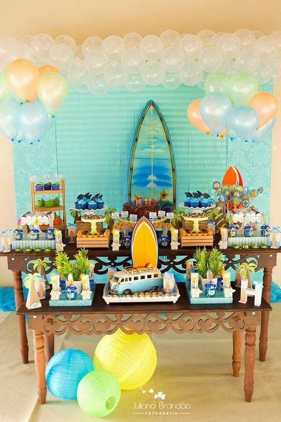 Festa Tropical E Festa Havaiana Veja De 110 Ideias Para Você
