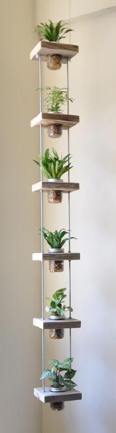 jardim-vertical-com-potes-de-vidro