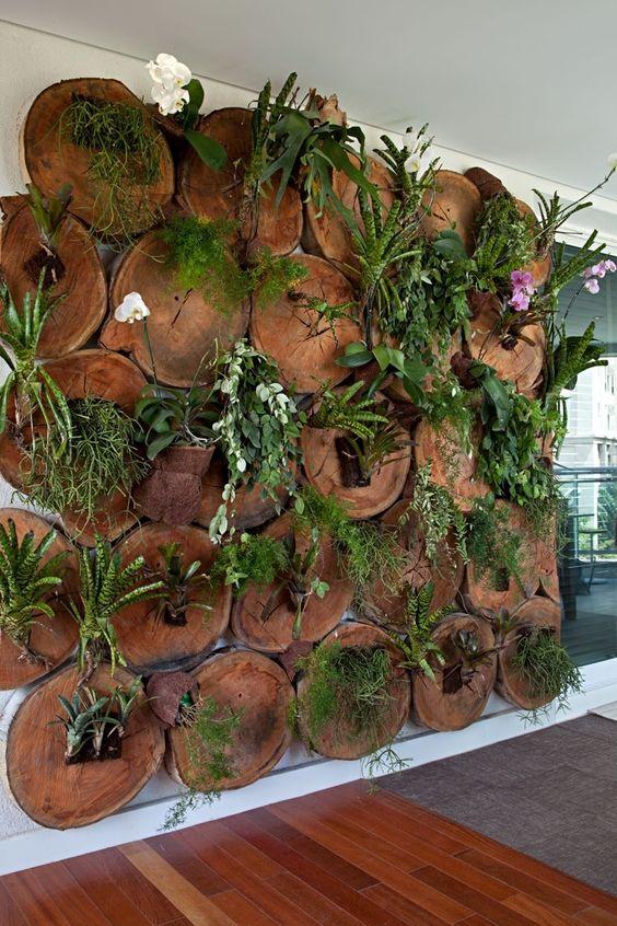 Jardim vertical veja mais de 50 modelos com fotos e - Telas para sombra ...