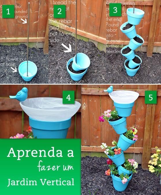 Jardim Vertical Modelos Como Fazer Fotos Pictures to pin on Pinterest