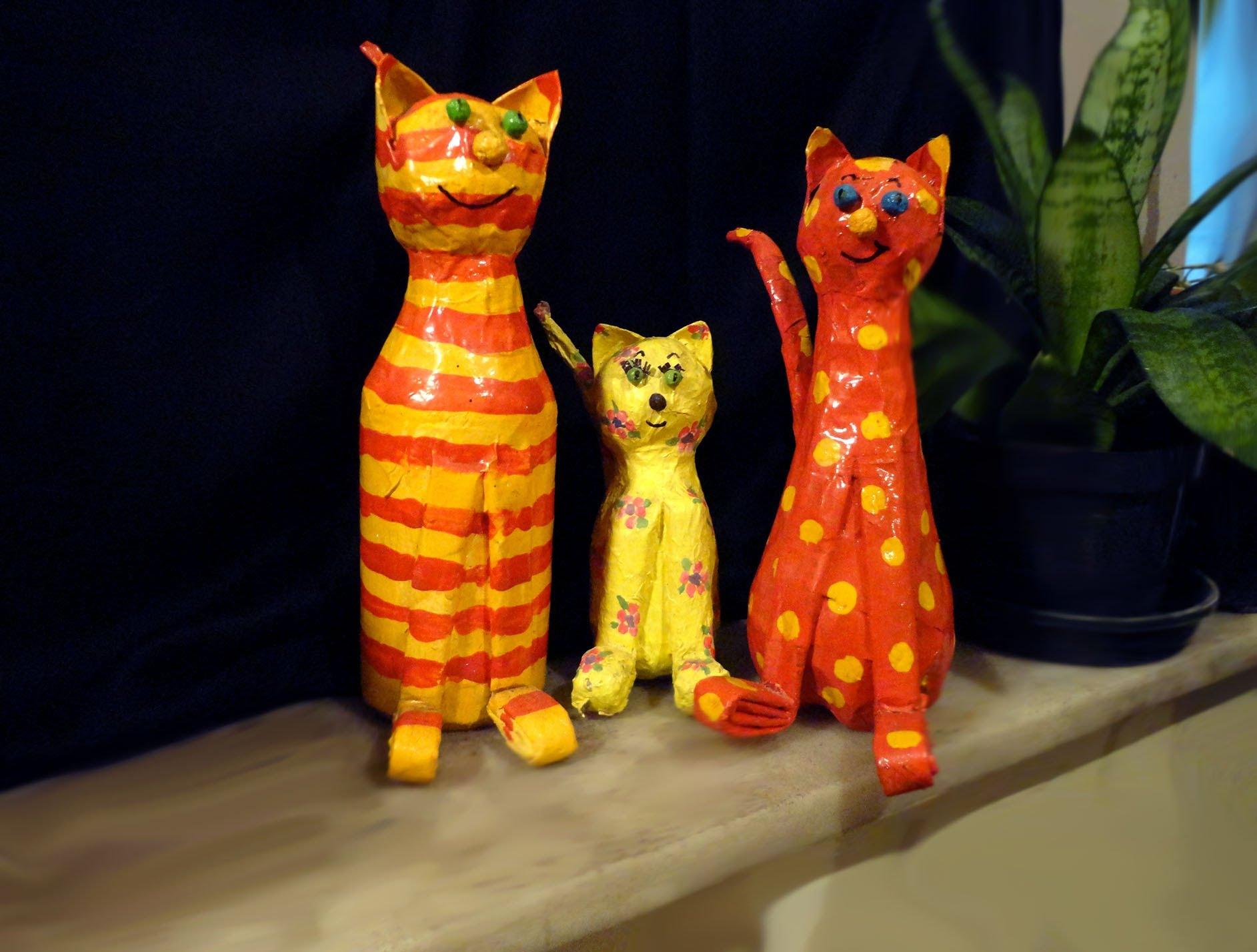 artesanato com garrafa pet animais