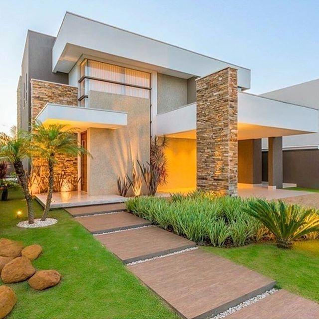 Fachadas de casas os modelos mais incr veis para for Casa de una planta sencilla