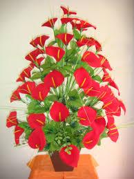 Arranjos de flores de eva frisadass