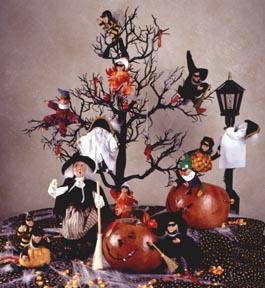 Decoração de festa de halloween assustadorr