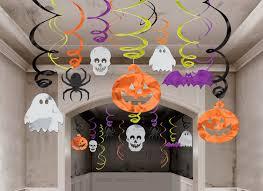 Decoração de festa de halloween na escola