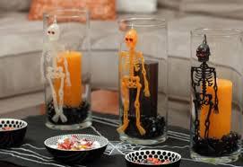 Decoração de festa de halloween simpless