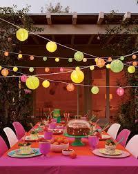 Decoração de mesa de jantar para aniversario