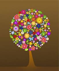 Flores de eva para painel