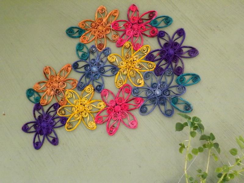 Flores de eva para painell