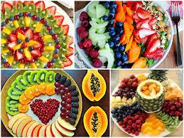 Mesa de frutas festa infantill