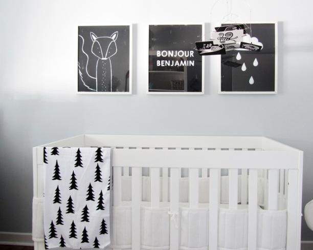 Quadros modernos para quarto de bebe