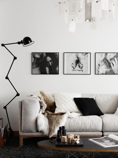 Quadros para sala preto e branco