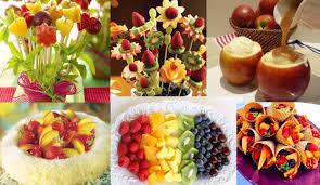 arranjos de frutas para mesa de ano novo