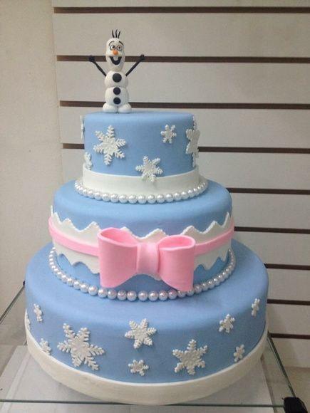 bonequinho de eva para bolo frozen lindo